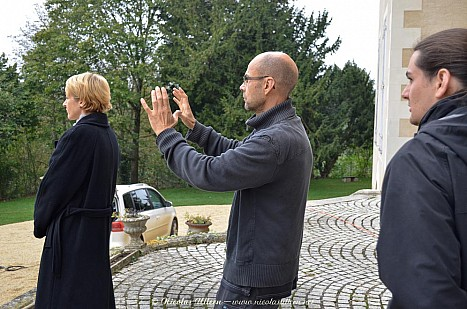 « Des pierres en ce jardin » (tournage)