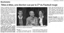 « Têtes à têtes », Ouest-France 17/01/2015