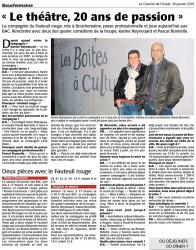 « Le théâtre, 20 ans de passion »