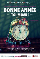 « Bonne année toi-même », par La Compagnie du Fauteuil Rouge (affiche)