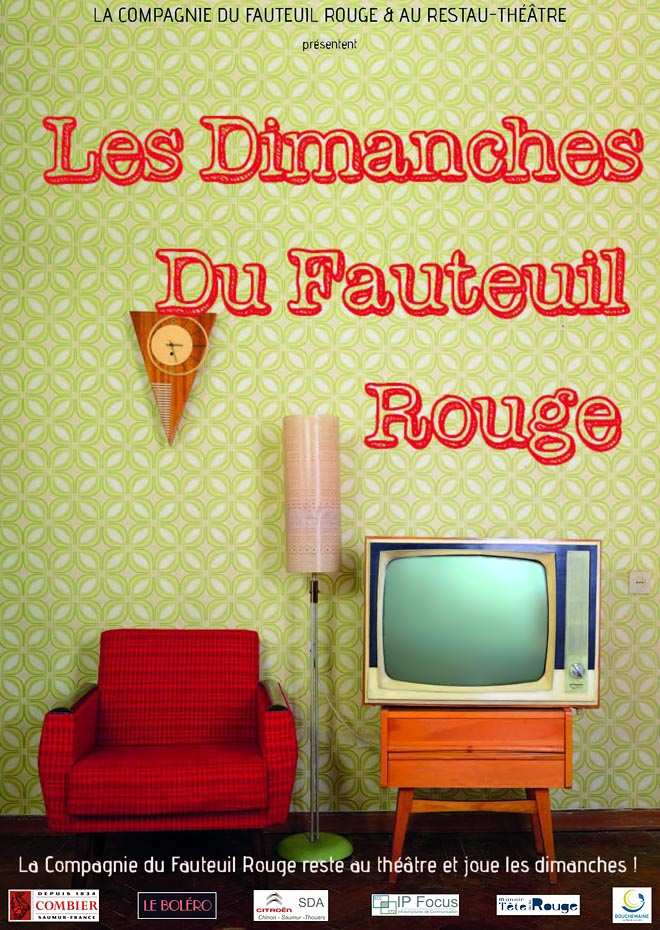 les dimanches du fauteuil rouge la compagnie du fauteuil rouge. Black Bedroom Furniture Sets. Home Design Ideas
